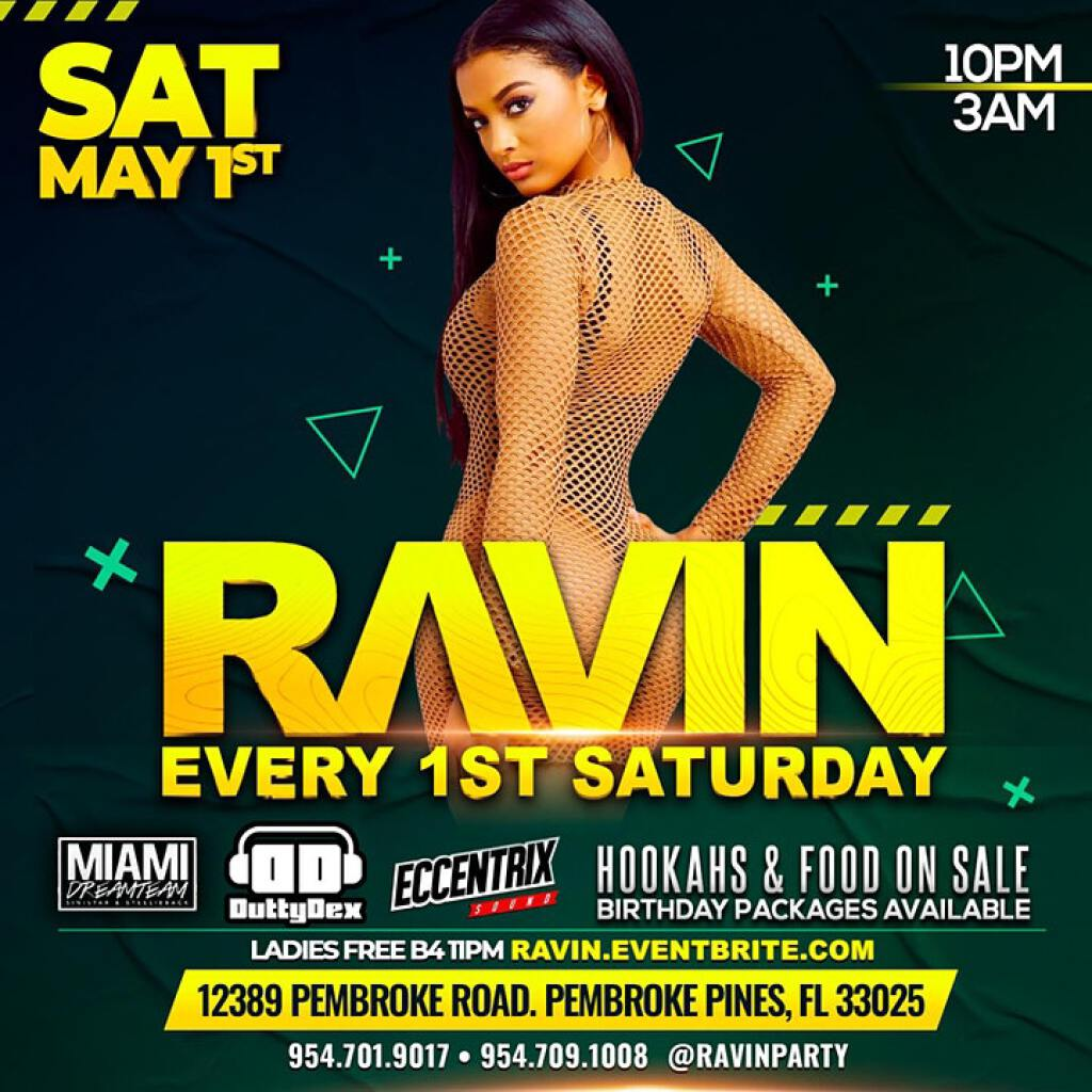 Ravin flyer or graphic.