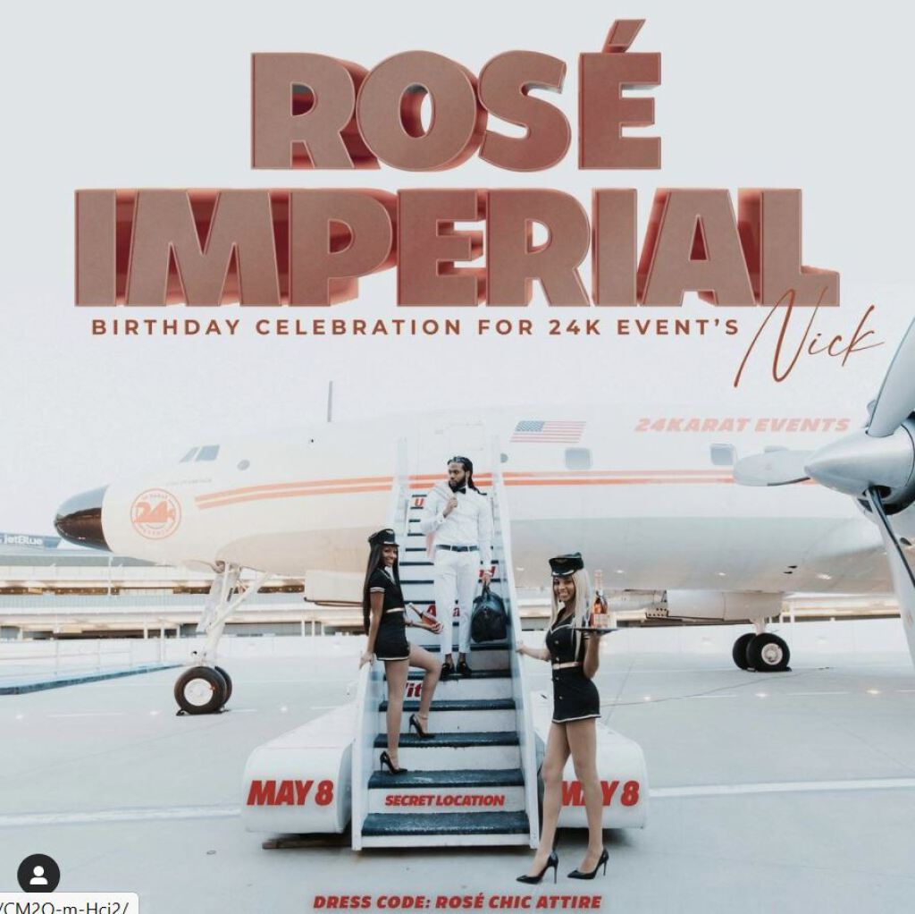 Rose Imperial flyer or graphic.