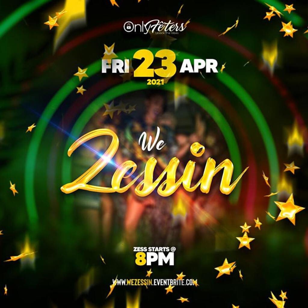 We Zessin flyer or graphic.