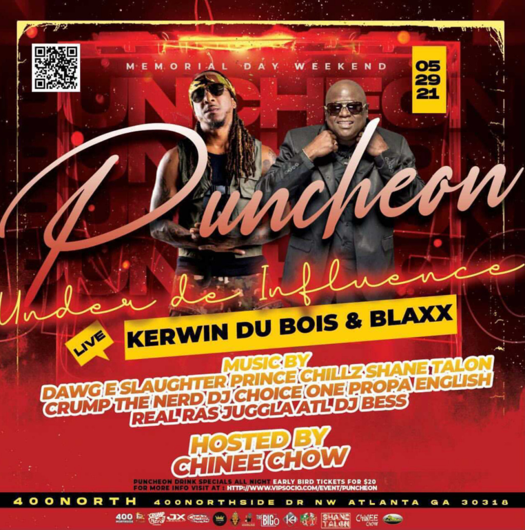 Puncheon flyer or graphic.
