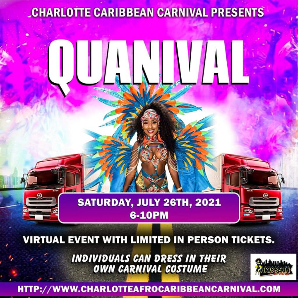 Quanival flyer or graphic.