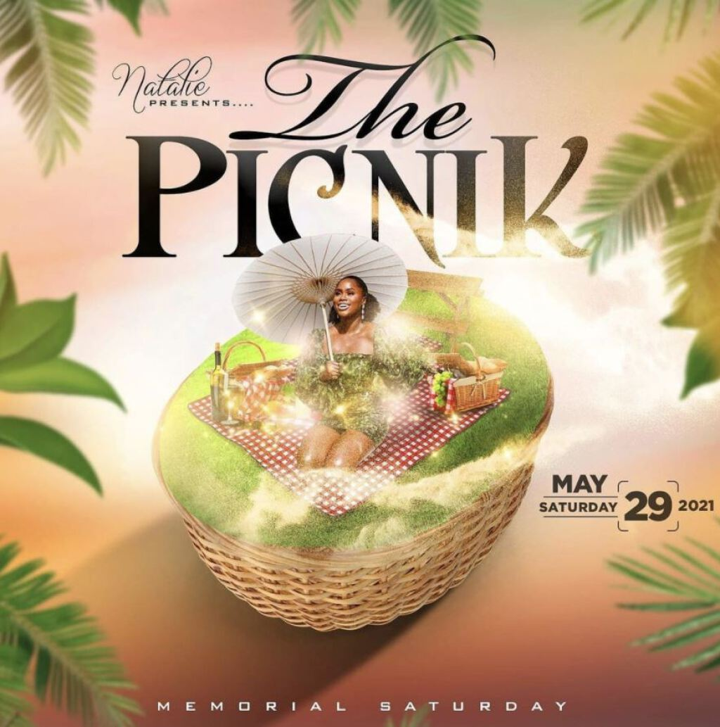Shhh The Weekend- The Picnik flyer or graphic.