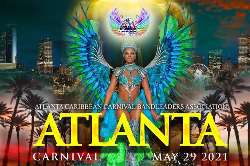 Atlanta Carnival Parade & Festival Village flyer or graphic.