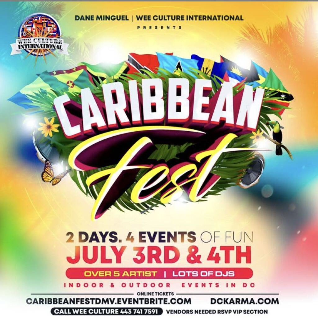 Caribbean Fest flyer or graphic.
