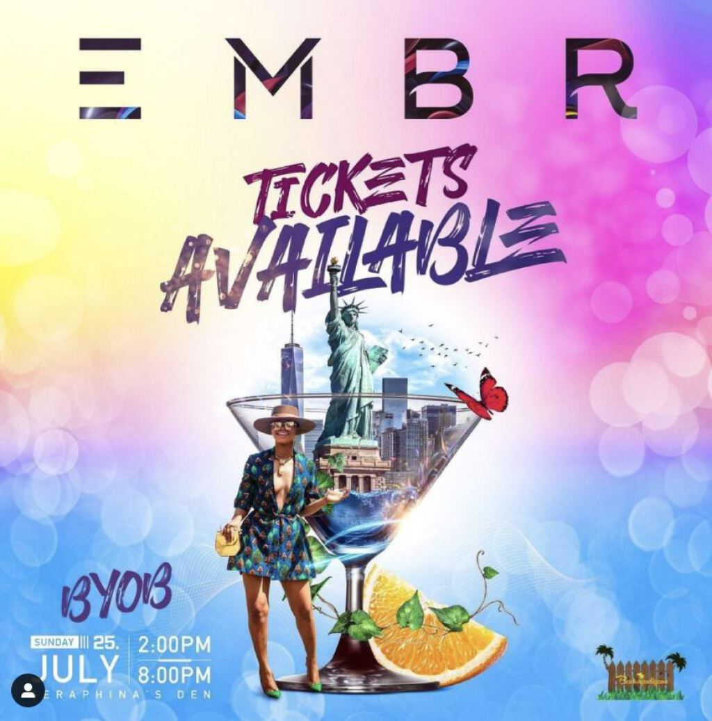 Embr flyer or graphic.