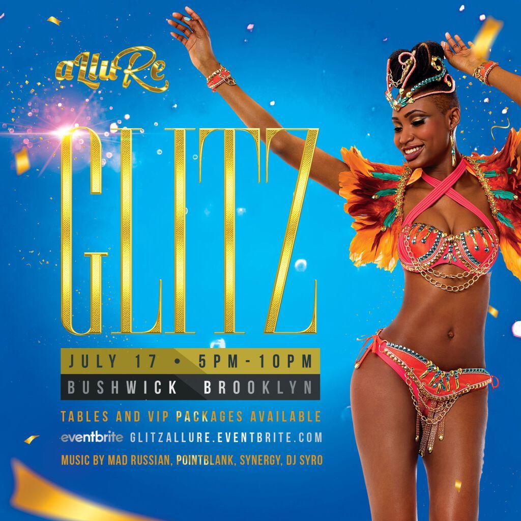Glitz flyer or graphic.