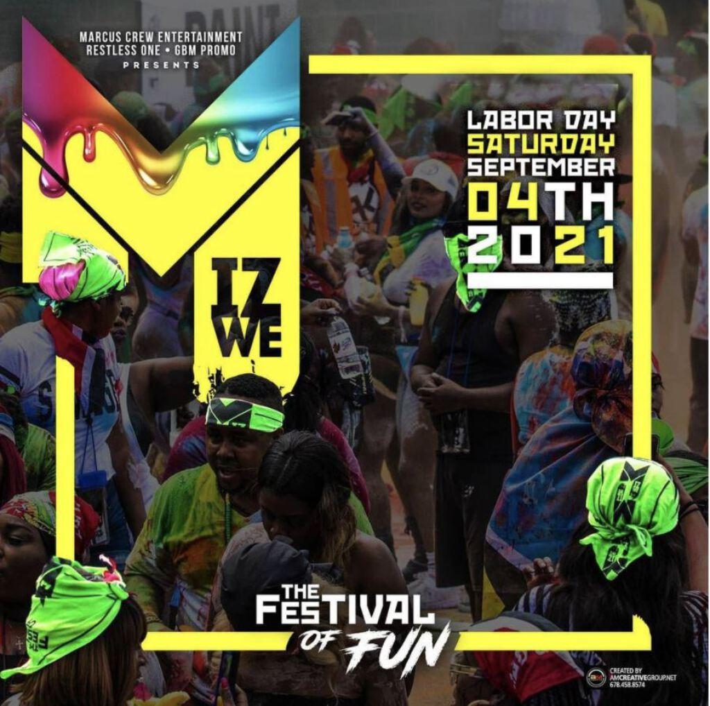 MIZWE: Festival Of Fun flyer or graphic.