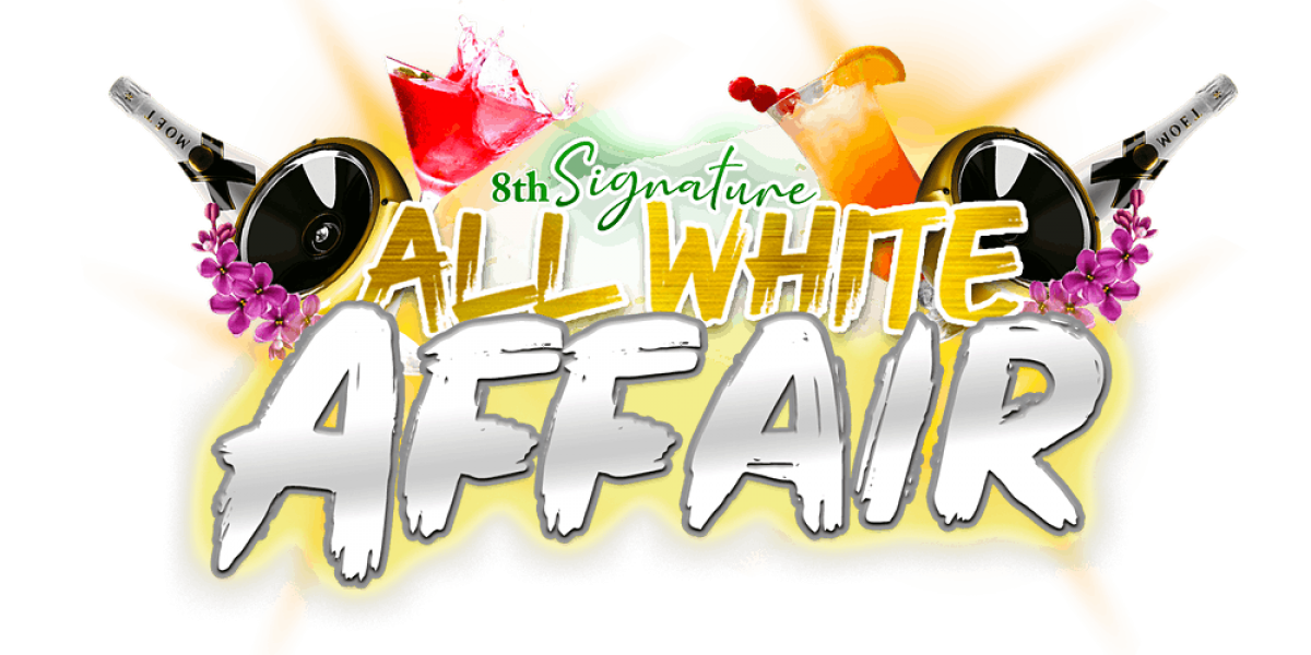 D' Professionals 8TH Annual All White flyer or graphic.