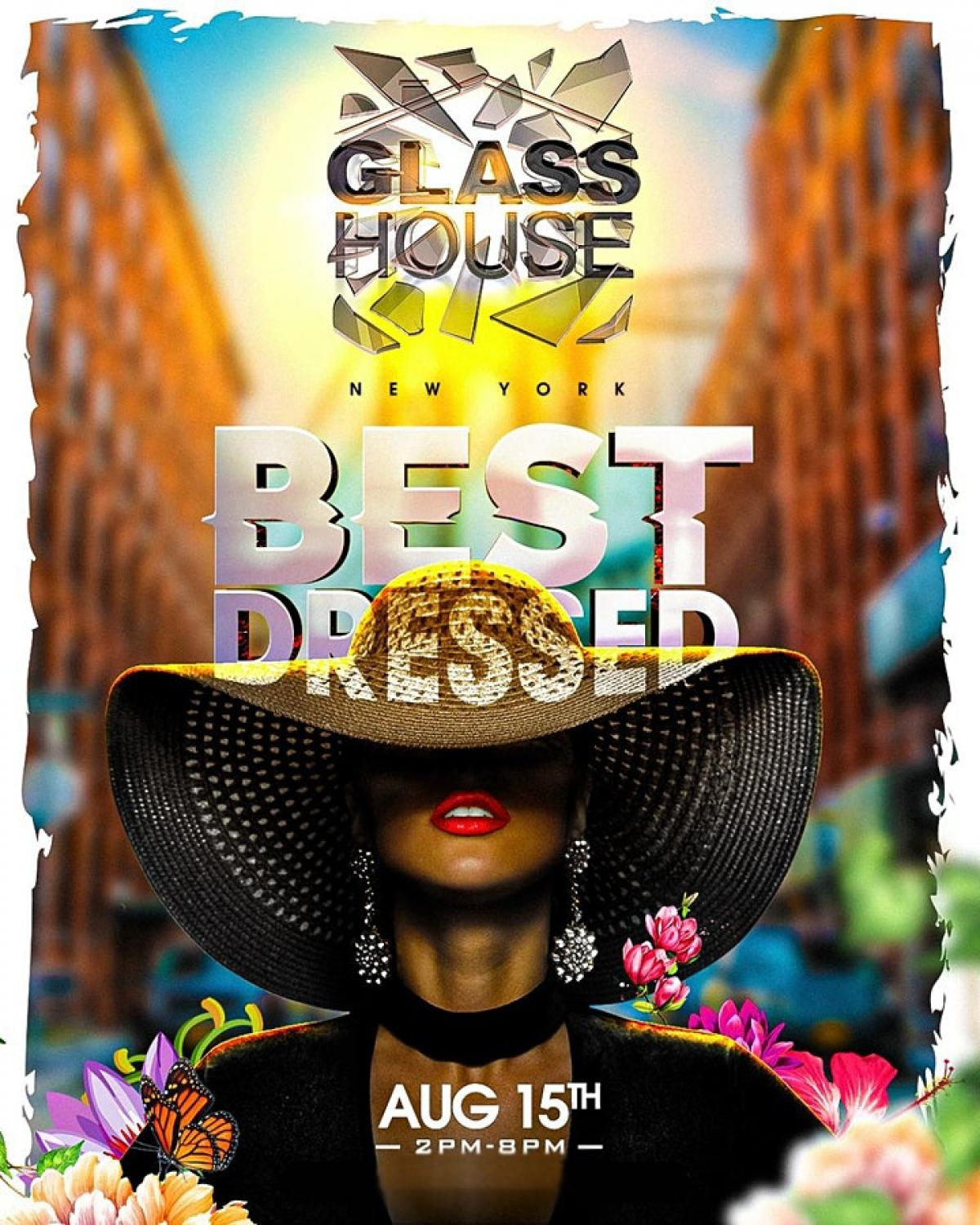 Glasshouse NYC flyer or graphic.