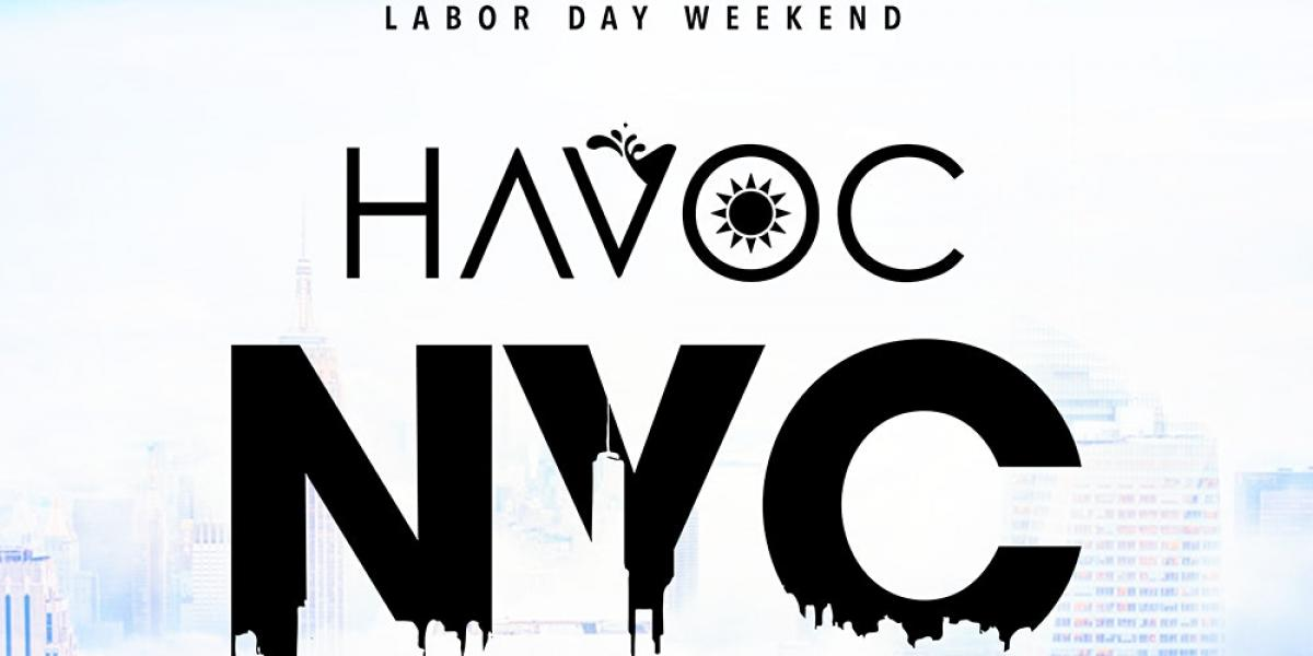HAVOC NYC flyer or graphic.