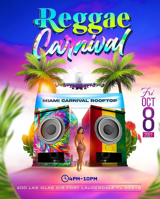 Reggae Carnival flyer or graphic.
