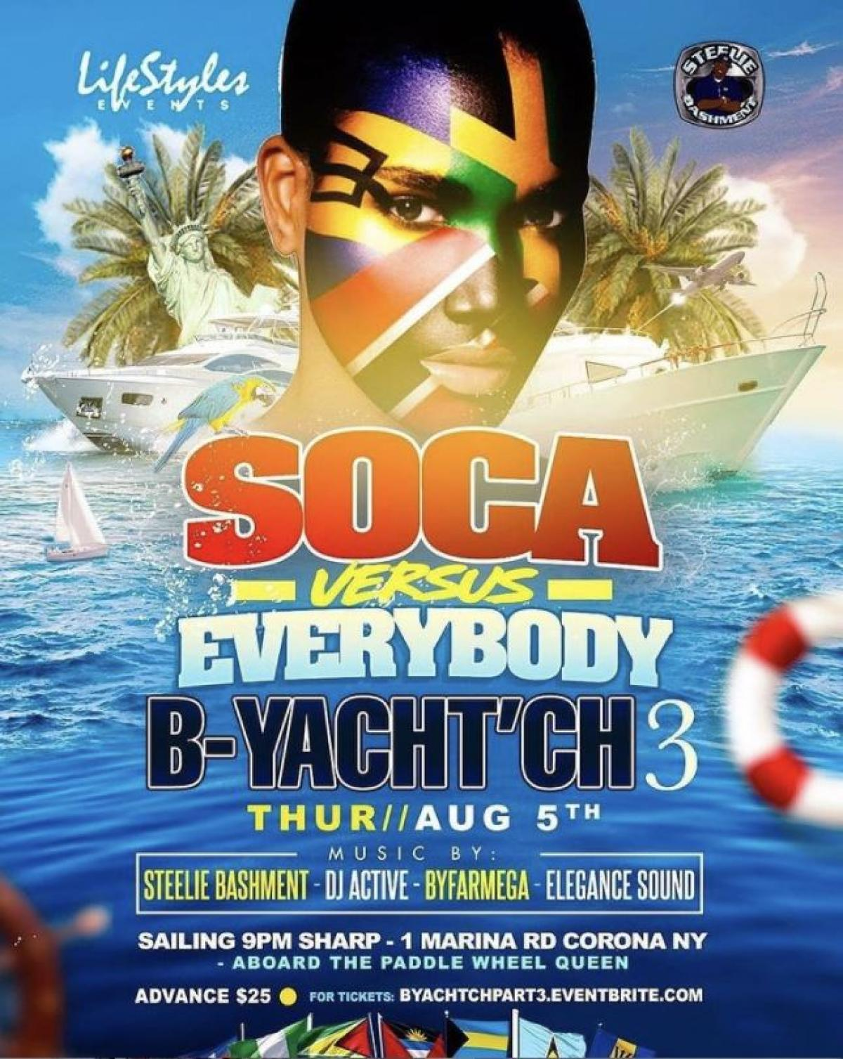 B-Yacht'ch 3 flyer or graphic.