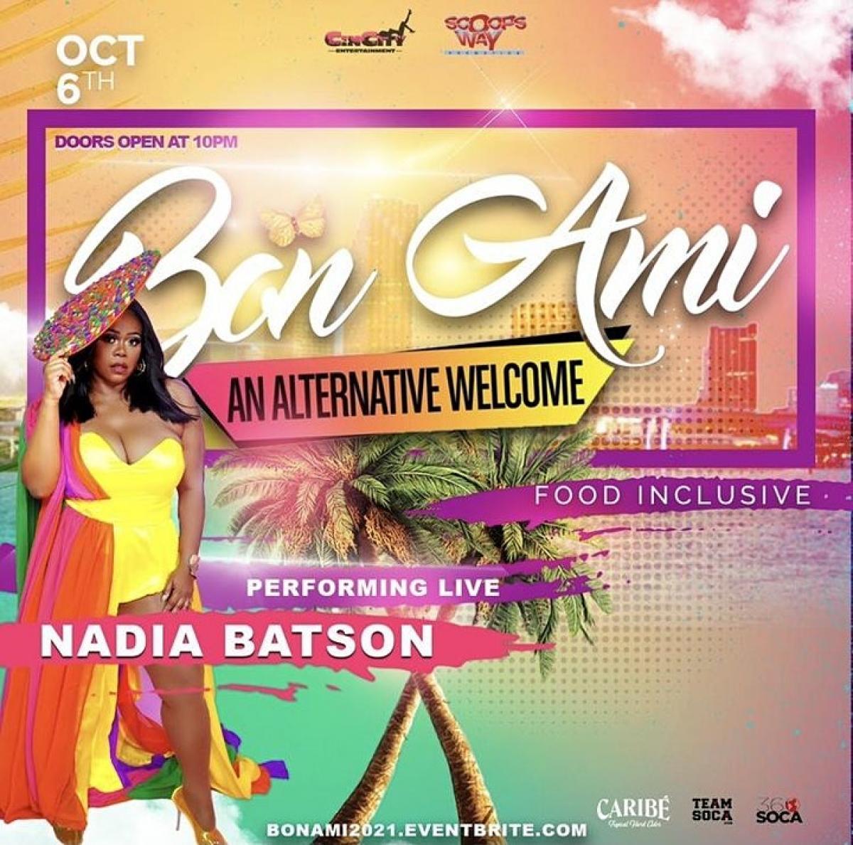 Bon Ami flyer or graphic.