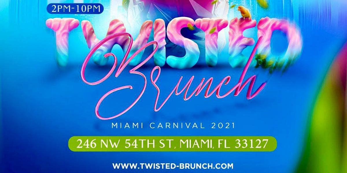 Twisted Brunch flyer or graphic.