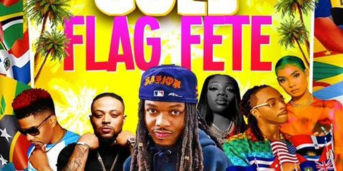 Flag Fete flyer or graphic.