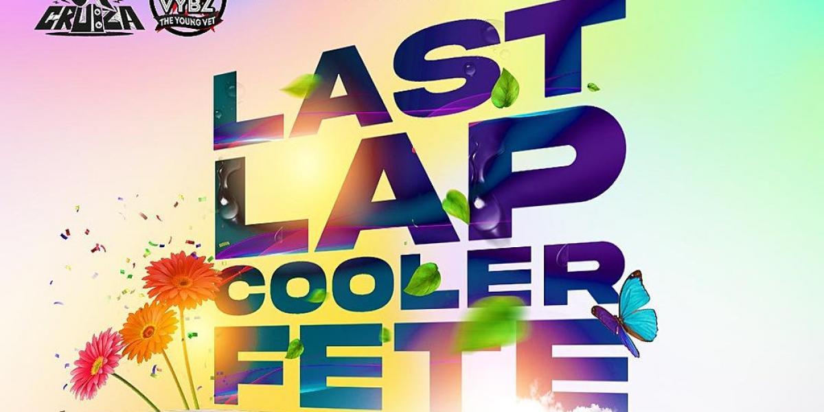 LastLap Cooler Fete 2021 flyer or graphic.