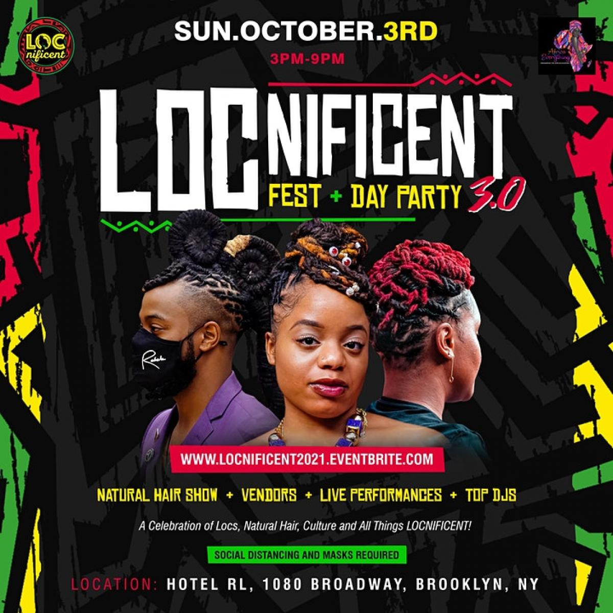 LOCnificent Fest flyer or graphic.