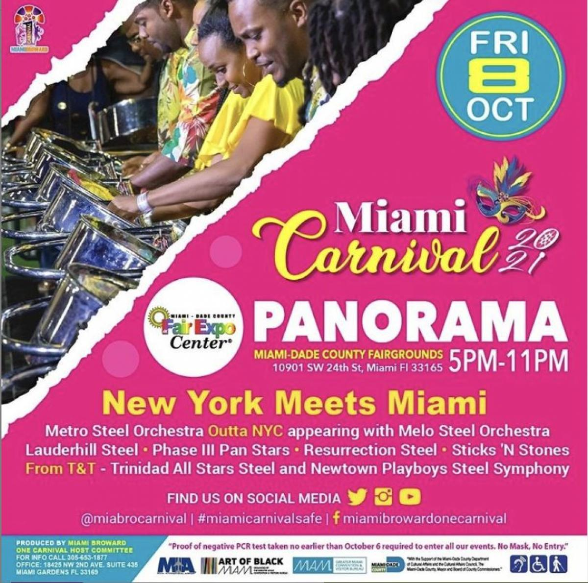 Panorama  flyer or graphic.
